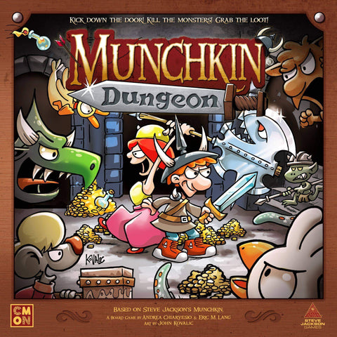 Munchkin Dungeon: Epic Board (Kickstarter Pre-Order Special) Board Game Accessory CMON Limited, Steve Jackson Games KS000838C