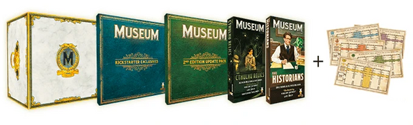 Museum: Deluxe Edition Newcomer Pledge Bundle (Kickstarter Pre-Order Special) Kickstarter Board Game Expansion Holy Grail Games KS000728B