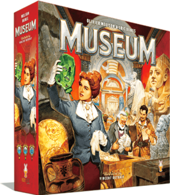 Museum: Grand Gallery Pledge (Kickstarter Pre-Order Special) Kickstarter Board Game Holy Grail Games