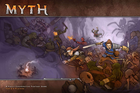 MYTH: 2.0 Upgrade Pack (Kickstarter Special) Kickstarter Board Game Supplement MegaCon Games KS000318C