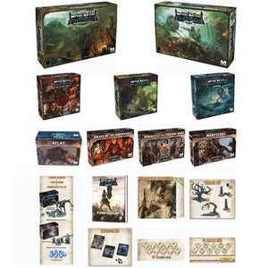 Mythic Battles: Pantheon 1.5 All-In Pledge Bundle (Kickstarter Pre-Order Special) Kickstarter Board Game Monolith Mythic Games