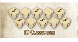 Mythic Battles Pantheon: 10 Classic Dice (MBP25) Retail Board Game Accessory Monolith KS000623G