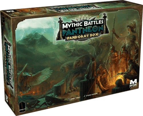 Mythic Battles Pantheon: Apollo Miniature plus Pandora's Box Bundle (MBP02) (Kickstarter Special) Kickstarter Board Game Monolith KS000623D
