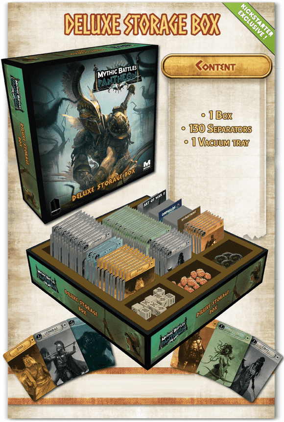 Mythic Battles Pantheon 1.5: Deluxe Storage Box (MBP07) (Kickstarter Special) Kickstarter Board Game Accessory Monolith KS000623J