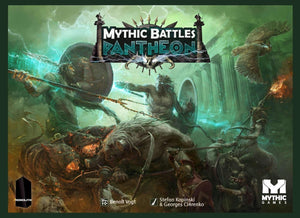 Mythic Battles: Pantheon God Pledge Bundle (Kickstarter Special) Kickstarter Board Game Monolith