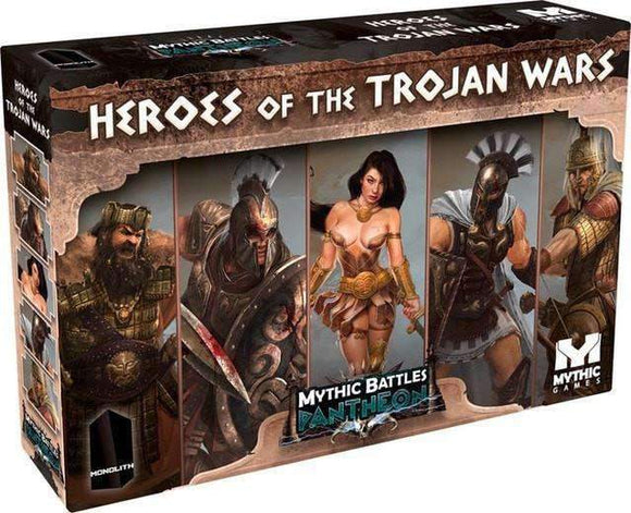 Mythic Battles Pantheon: Heroes of The Trojan War (MBP10) Retail Board Game Monolith