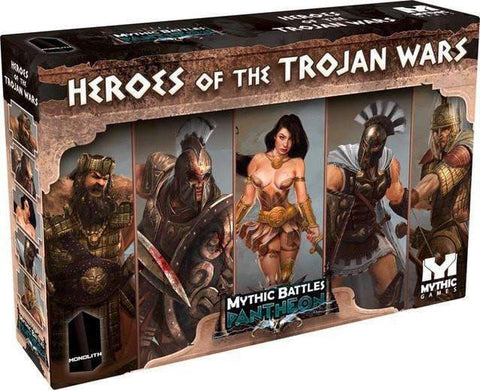 Mythic Battles Pantheon 1.5: Heroes of The Trojan War (MBP10) Retail Board Game Monolith KS000623Q