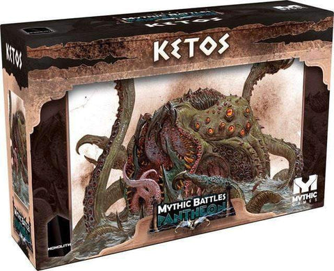 Mythic Battles Pantheon: Ketos (MBP24) Retail Board Game Monolith KS000623R