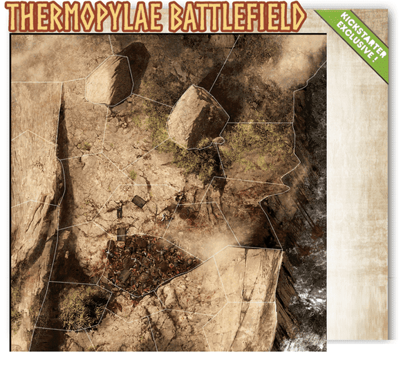 Mythic Battles Pantheon: Thermopylae Battlefield (MBP04) (Kickstarter Special) Kickstarter Board Game Expansion Monolith
