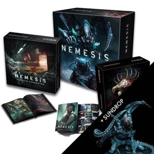 Nemesis: Sundrop Intruder All In Pledge Bundle (Kickstarter Special) Kickstarter Board Game Awaken Realms KS000743A