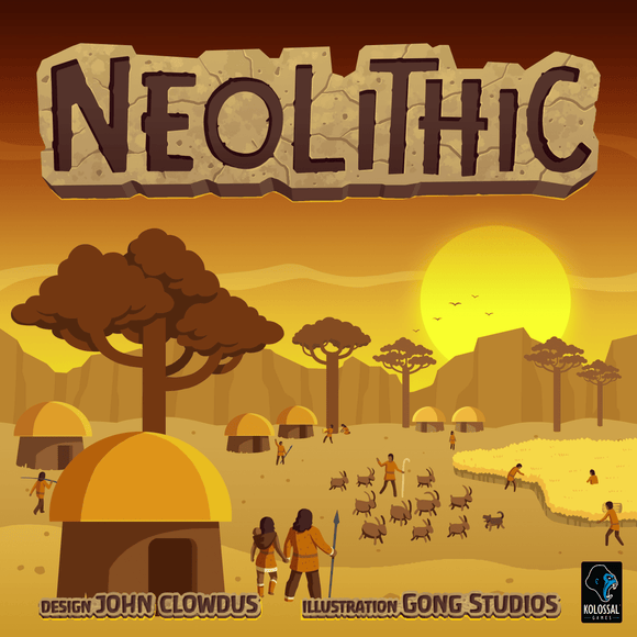 Neolithic + Advanced Cultures Open Box Ding & Dent Bundle (Kickstarter Special) Kickstarter Board Game Small Box Games