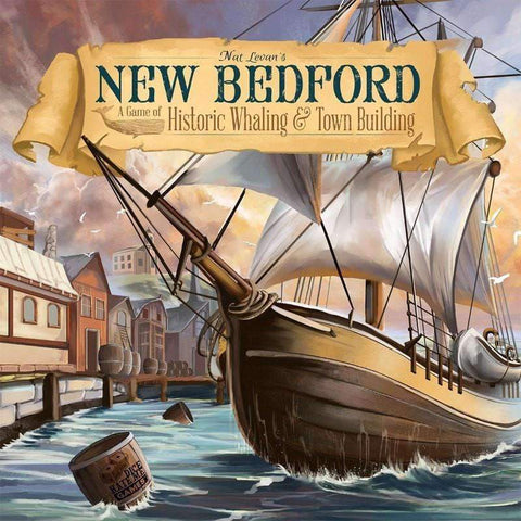 New Bedford plus Rising Tide plus White Whale Expansion Bundle (Kickstarter Special) Kickstarter Board Game Greater Than Games (Dice Hate Me Games) 0798304339222 KS000231