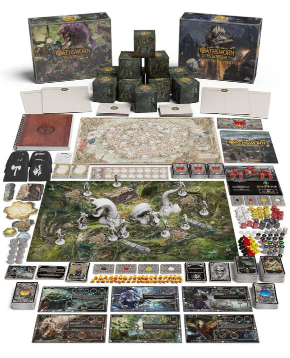 Oathsworn Collectors All In Pledge Bundle (Kickstarter Pre-Order Special) Kickstarter Board Game Shadowborne Games KS000991A