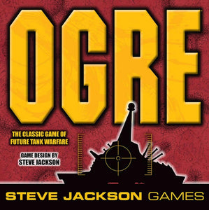 OGRE (Sixth Edition) Retail Board Game Hobby Japan