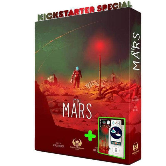 On Mars: Deluxe Edition Ding&Dent (Kickstarter Special) Kickstarter Board Game Eagle-Gryphon Games KS000933B
