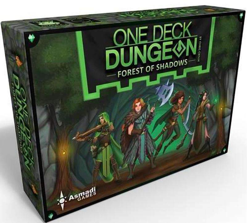 One Deck Dungeon Forest Of Shadows Retail Edition