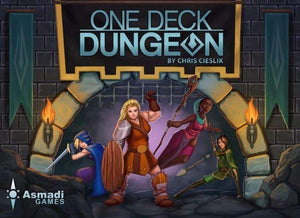 One Deck Dungeon (Kickstarter Special) Kickstarter Card Game Asmadi Games