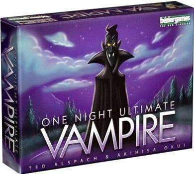 One Night Ultimate Vampire (Kickstarter Special) Kickstarter Board Game Bézier Games