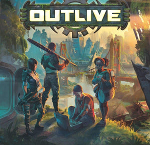 Outlive: Double Sided XL Game Board (Kickstarter Special) Kickstarter Board Game Accessory Arclight