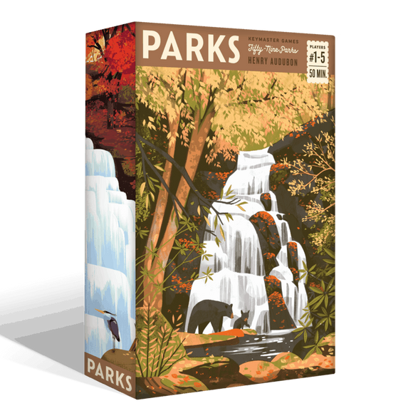 PARKS: The Board Game (Kickstarter Special) Board Game Geek, Kickstarter Games, Games, Kickstarter Board Games, Board Games, Keymaster Games, PARKS, The Games Steward Kickstarter Edition Shop, Point to Point Movement, Set Collection Keymaster Games