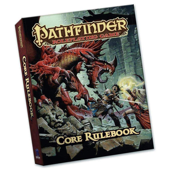 Pathfinder Roleplaying Game: Core Rulebook Pocket Edition Retail Board Game Paizo 9781601258878 KS000646C