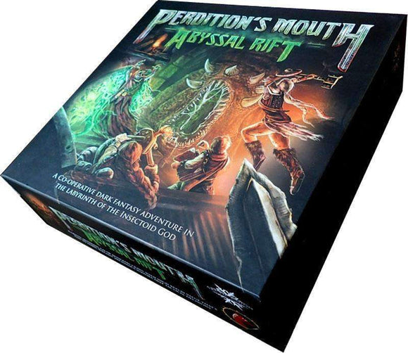 Perdition's Mouth: Abyssal Rift Deluxe Edition (Kickstarter Special) Ding&Dent Kickstarter Board Game Cosmic Games 0700867327769 KS000208A