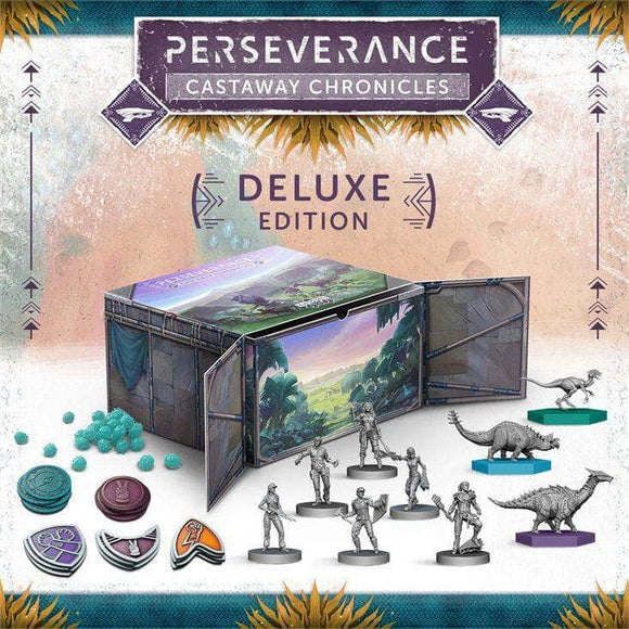 Perseverance: Castaway Chronicles Deluxe Edition (Kickstarter Pre-Order Special) Kickstarter Board Game Mindclash Games KS001041A