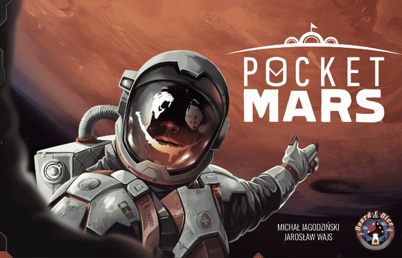 Pocket Mars (Retail Edition) Retail Board Game Grey Fox Games KS001050A