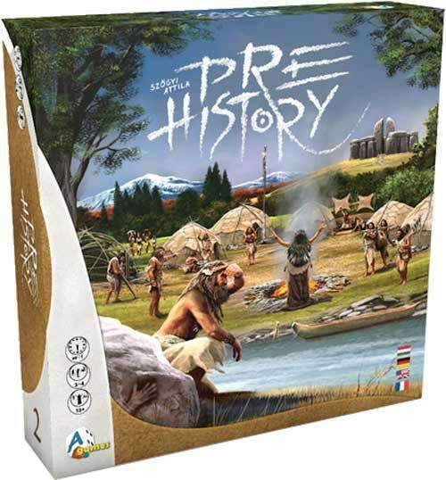 Prehistory Board Game (Retail Pre-Order Special) Kickstarter Board Game A-Games