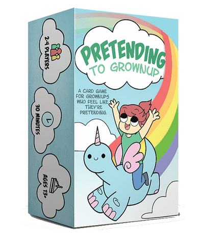 Pretending to Grownup (Kickstarter Special) Kickstarter Card Game Golden Games 0556894532177 KS000269