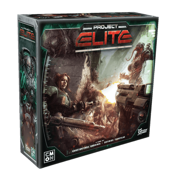 Project ELITE: Ammo Pack (Kickstarter Pre-Order Special) Kickstarter Board Game Supplement Artipia Games