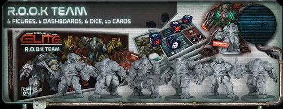 Project ELITE: R.O.O.K. Team Expansion (Kickstarter Pre-Order Special) Kickstarter Board Game Expansion CMON Limited