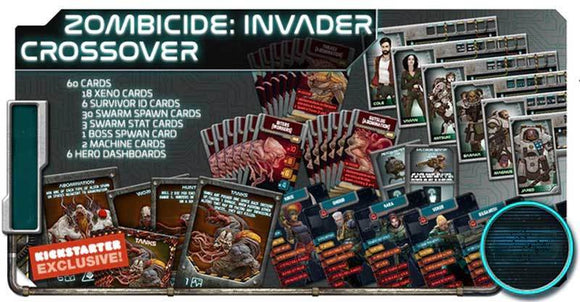 Project ELITE: Zombicide Invader Crossover Promo Pack (Kickstarter Pre-Order Special) Kickstarter Board Game Supplement Artipia Games
