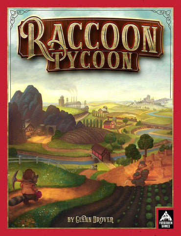 Raccoon Tycoon Premium Edition Plus Fat Cat Expansion Bundle Ding&Dent (Kickstarter Special) Kickstarter Board Game Forbidden Games KS000966C