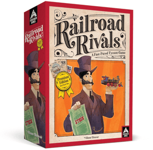 Railroad Rivals: First Class Ticket Pledge (Kickstarter Special) Kickstarter Board Game Forbidden Games KS000756A