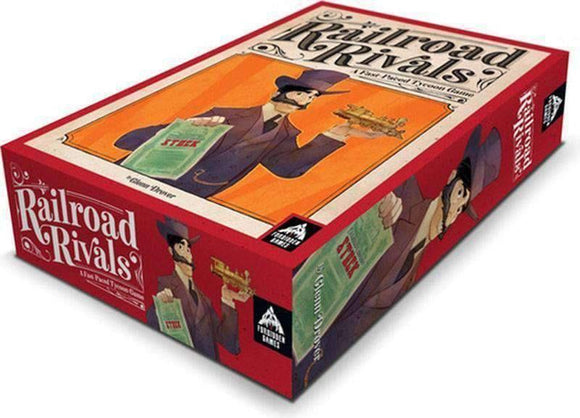 Railroad Rivals (Retail Edition) Retail Board Game Forbidden Games 0852068008012 KS000756B