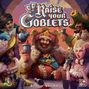 Raise Your Goblets Retail Board Game CMON Limited 0889696003027 KS000684