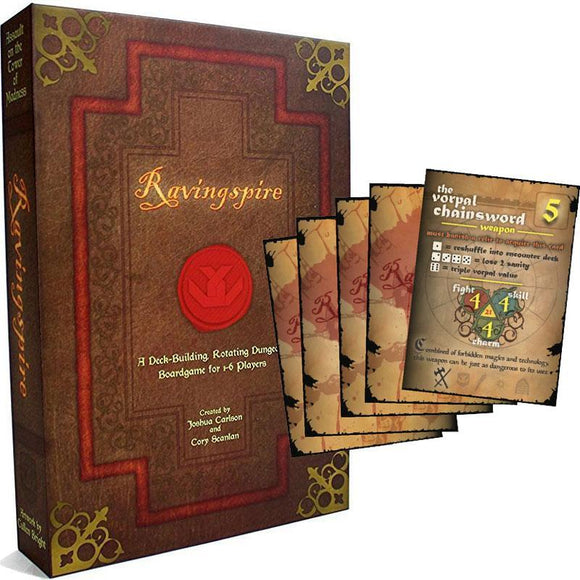 Ravingspire Deluxe plus Vorpal Chainsword Expansion (Kickstarter Special) Kickstarter Board Game Vorpal Chainsword Games