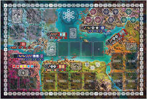 Reavers of Midgard: Neoprene Play Mat Double Sided (Kickstarter Pre-Order Special) Kickstarter Board Game Accessory Grey Fox Games