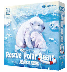 Rescue Polar Bears: Data and Temperature (Kickstarter Special) Kickstarter Board Game TwoPlus Games KS000747A