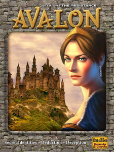 Resistance: Avalon Retail Board Game Indie Boards & Cards 0722301926192 KS000771A