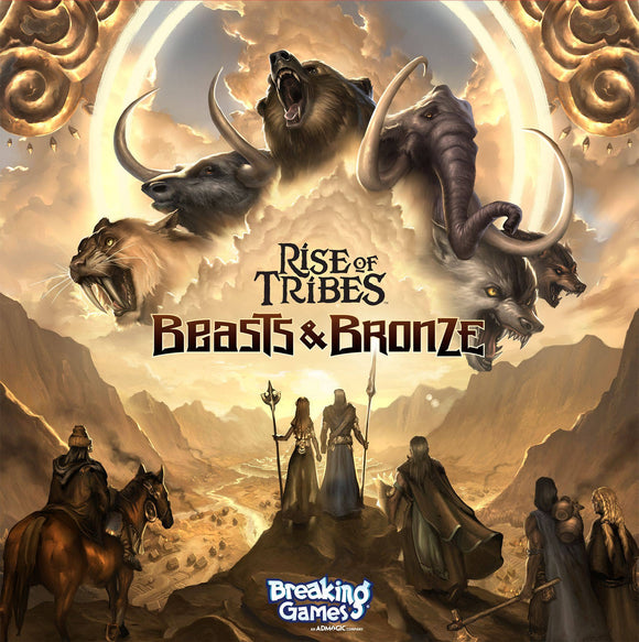 Rise of Tribes: Beasts & Bronze, Vul'Keth Invasion Plus Mesa Promo Tile Bundle (Kickstarter Pre-Order Special) Breaking Games KS001027B