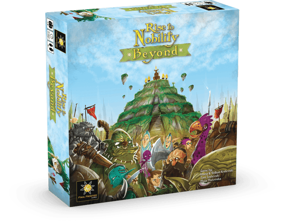 Rise To Nobility: Beyond (Kickstarter Pre-Order Special) Kickstarter Board Game Expansion Final Frontier Games