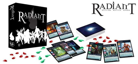 ROBA: Radiant Offline Battle Arena Hero Pledge (Kickstarter Pre-Order Special) Kickstarter Card Game Legendforge
