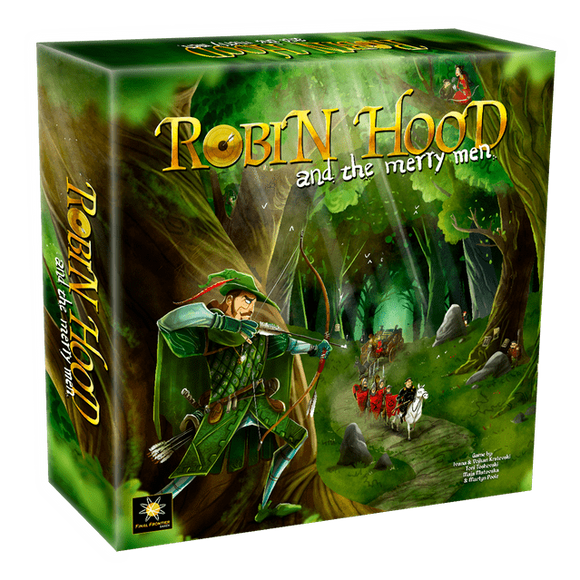 Robin Hood and the Merry Men: Deluxe Edition (Kickstarter Pre-Order Special) Kickstarter Board Game Final Frontier Games