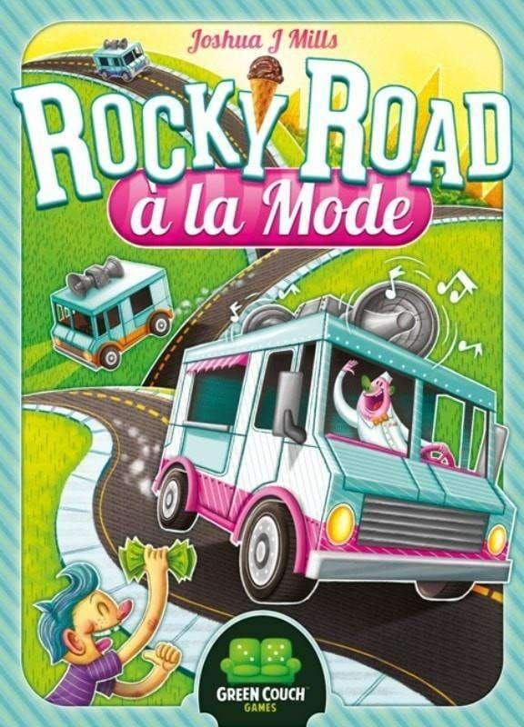 Rocky Road à la Mode (Kickstarter Special) Kickstarter Board Game Green Couch Games
