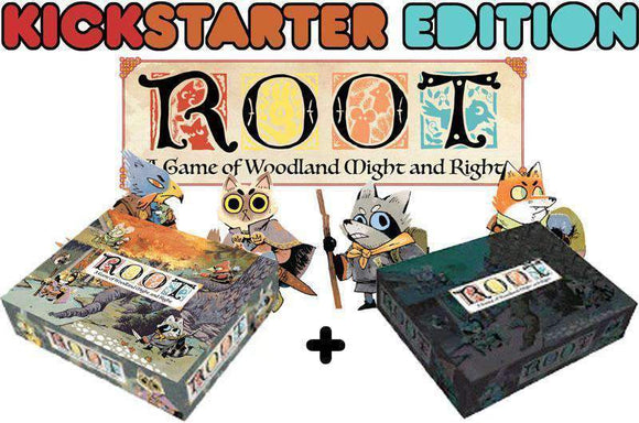 Root plus Riverfolk Expansion Bundle (Kickstarter Special) Kickstarter Board Game Leder Games