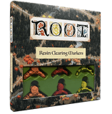 Root: Resin Clearing Markers (Retail Edition) Retail Board Game Accessory Leder Games KS000721C