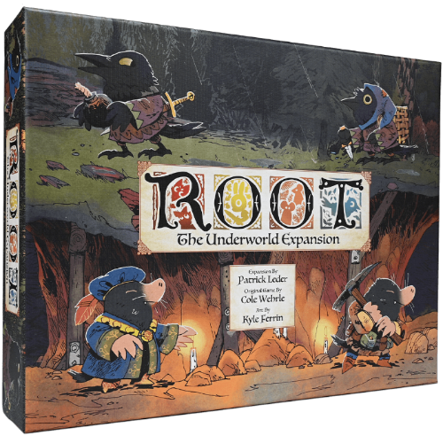 Root: Underworld (Retail Edition) Retail Board Game Expansion Leder Games KS000721F