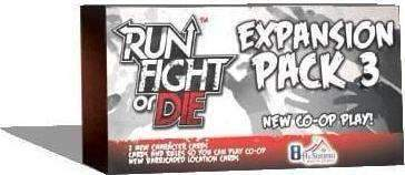 Run Fight or Die! Co-Op Expansion Retail Board Game 8th Summit 0661799914857 KS000637B